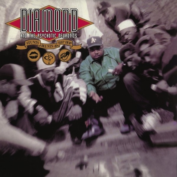 DIAMOND & THE PSYCHOTIC NEUROTICS - STUNTS, BLUNTS & HIP HOP 2LP