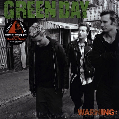 GREEN DAY - WARNING LP