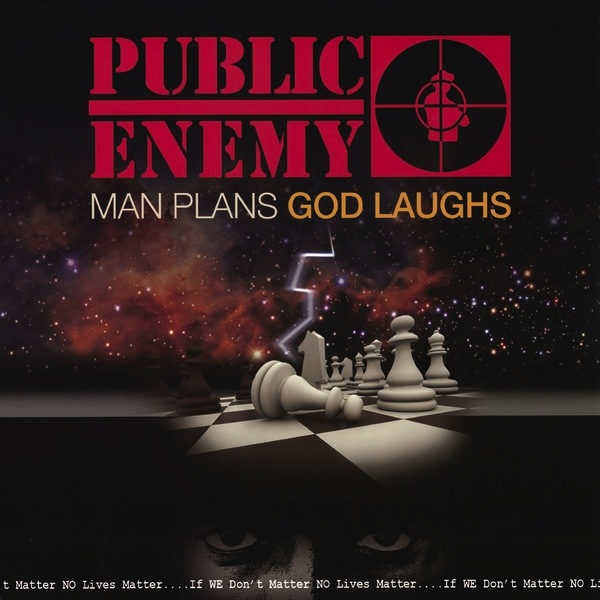 PUBLIC ENEMY - MAN PLANS GOD LAUGHS LP