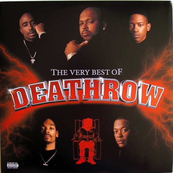 VARIOUS ARTISTS - VERY BEST OF DEATH ROW  2LP