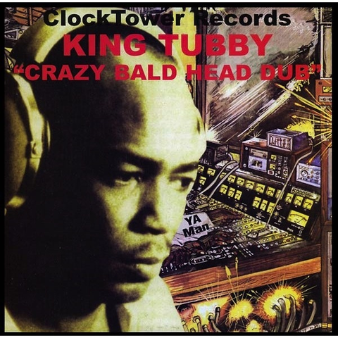 KING TUBBY - CRAZY BALD HEAD DUB LP