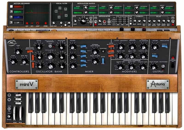 Arturia - Mini V Software Synthesizer  (Download)