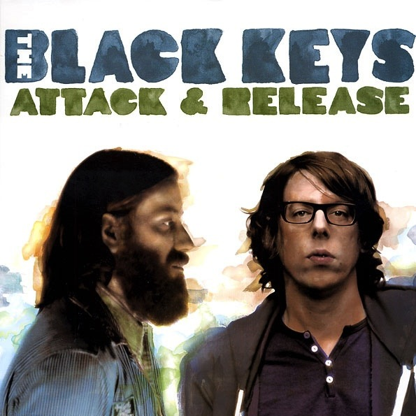 THE BLACK KEYS - ATTACK & RELEASE LP