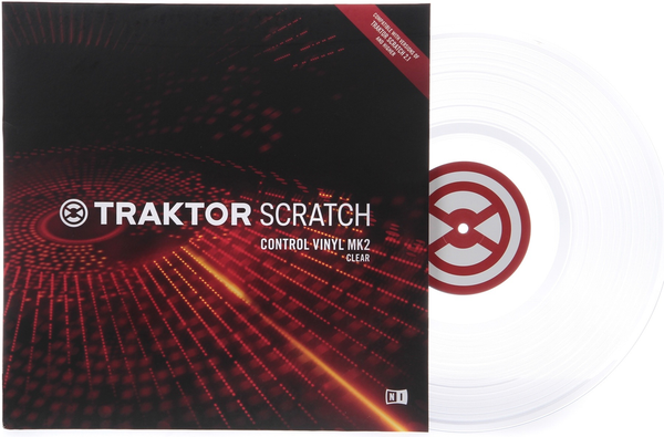 NATIVE INSTRUMENTS - TRAKTOR SCRATCH CONTROL VINYL MK2 WHITE