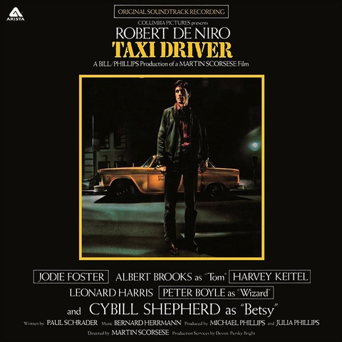 BERNARD HERMANN - TAXI DRIVER SOUNDTRACK LP