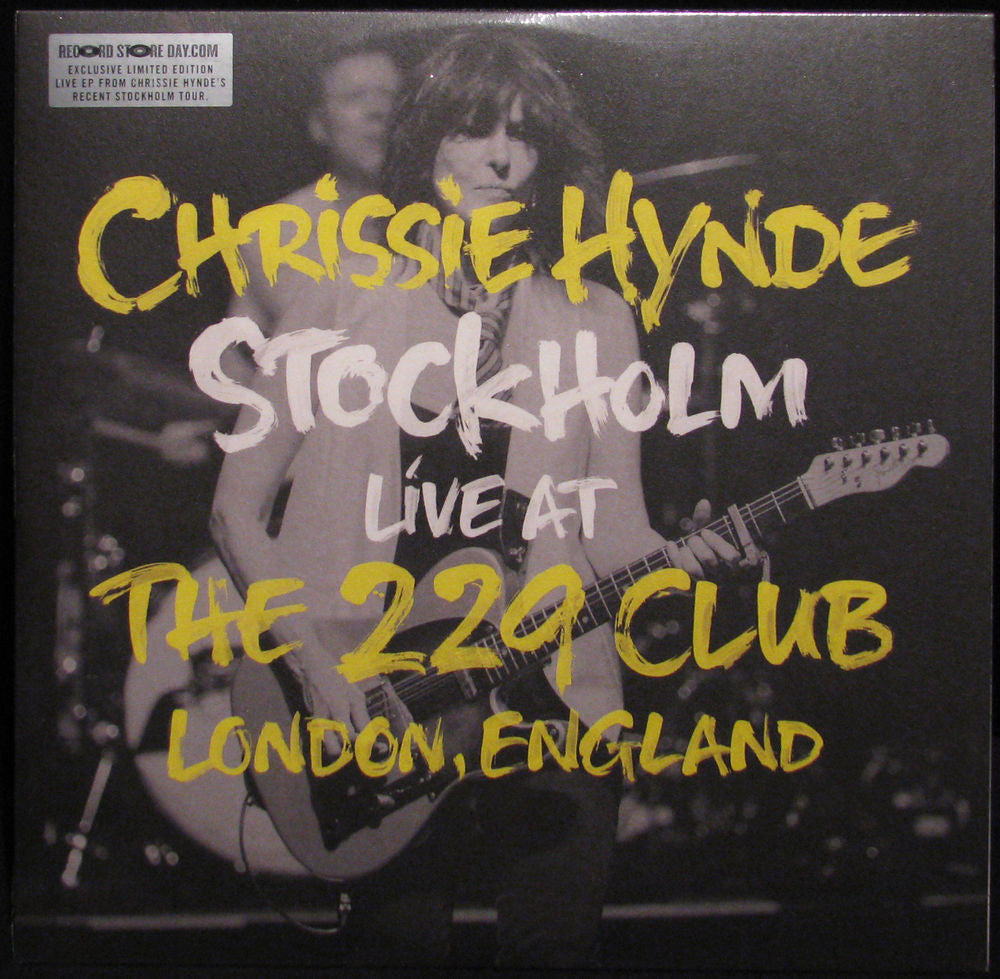 CHRISSIE HYNDE - STOCKHOLM LIVE AT THE 229 CLUB 10""