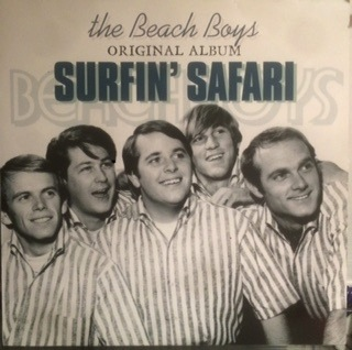 BEACH BOYS -  SURFIN' SAFARI LP