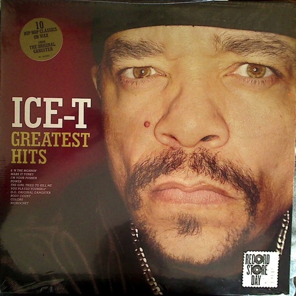ICE T - GREATEST HITS LP