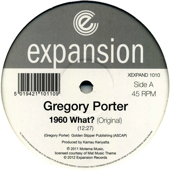 GREGORY PORTER  - 1960 WHAT 12"