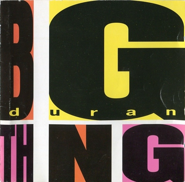 DURAN DURAN - BIG THING LP