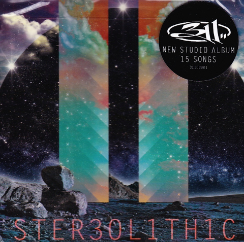 311 - STEREOLITHIC ( 2 LP )