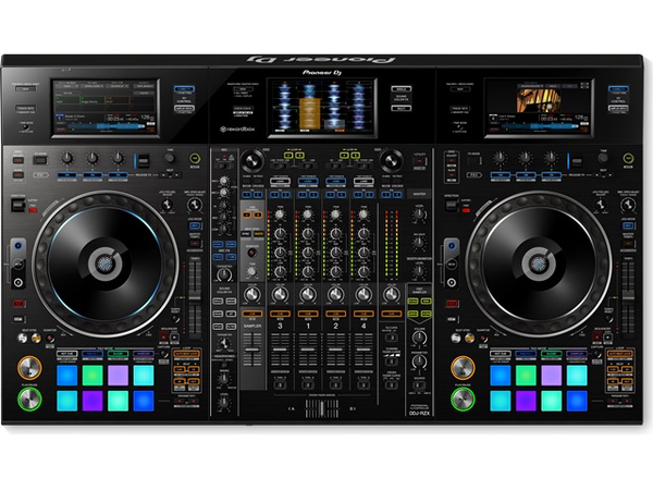PIONEER - DDJ-RXZ PROFESSIONAL 4-CHANNEL CONTROLLER FOR REKORDBOX DJ & REKORDBOX VIDEO