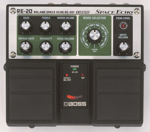 Boss - Roland RE-20 Space Echo Twin Pedal