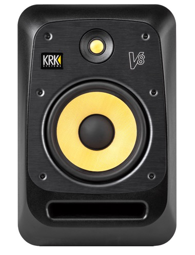 "Krk - V8S4 (8"" Driver Studio Monitors)"