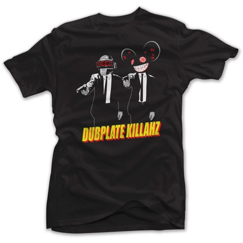 DUBPLATE KILLAHZ T-SHIRT BLACK