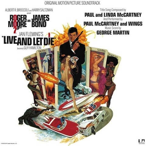 VARIOUS - LIVE AND LET DIE SOUNDTRACK LP
