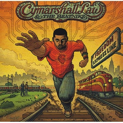 CYMARSHALL LAW & THE BEATNIKZ - FREEDOM EXPRESS LINE 2LP