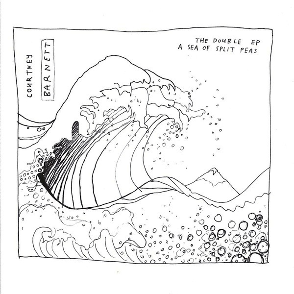 COURTNEY BARNETT - THE DOUBLE EP:  A SEA OF SPLIT PEAS 2LP