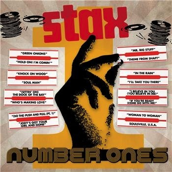 VARIOUS - STAX NUMBER ONES LP
