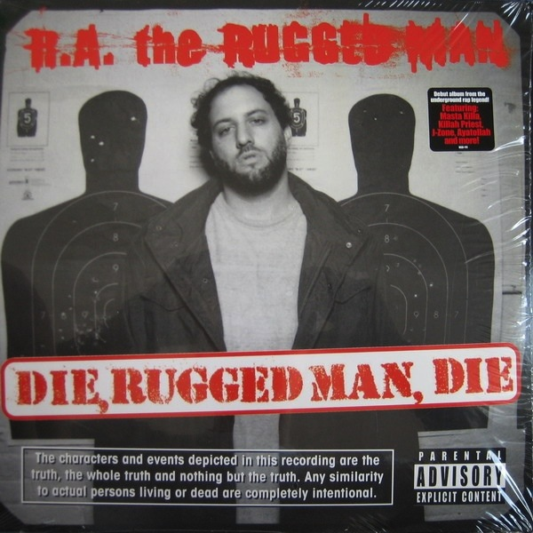 R.A. THE RUGGED MAN - DIE RUGGED MAN DIE 2LP