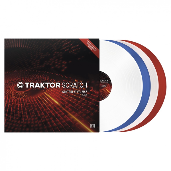 Native Instruments - Traktor Scratch Control Vinyl Mk2 Red
