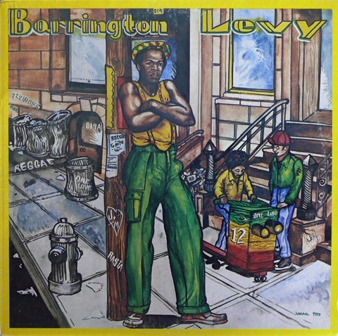 BARRINGTON LEVY - POOR MAN STYLE LP