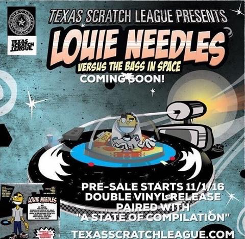 TEXAS SCRATCH LEAGUE - LOUIE NEEDLES/STATE OF COMPILATION 2X10""