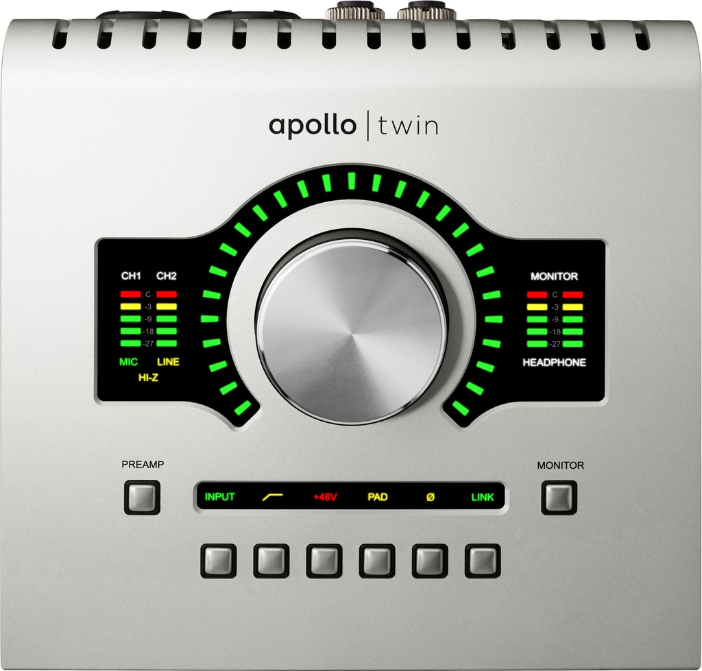 UAD - APOLLO TWIN USB FOR WINDOWS APOLLO TWIN FEATURING USB 3 FOR WINDOWS 7 & 8