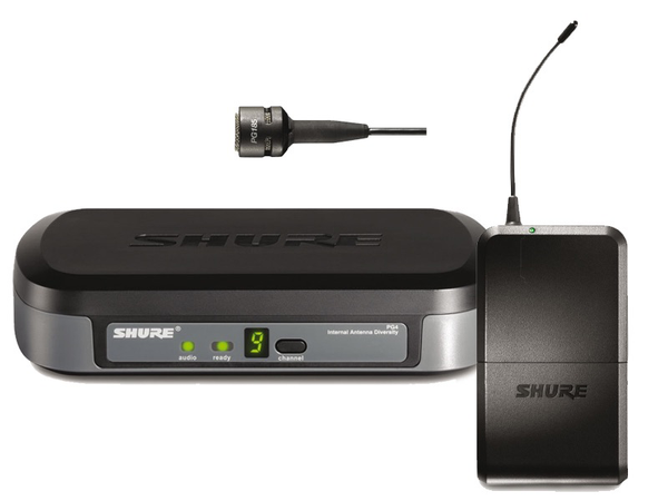 Rental - Shure PG185 (Wireless Lapel Microphone)