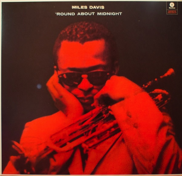 MILES DAVIS - 'ROUND ABOUT MIDNIGHT LP
