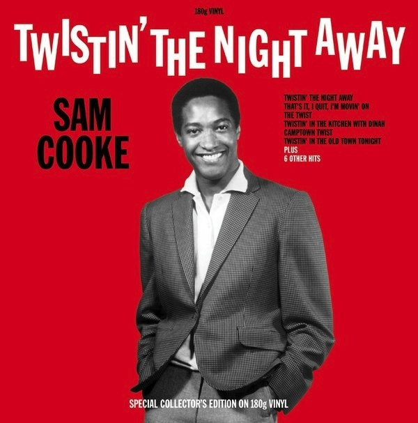 SAM COOKE - TWISTIN' THE NIGHT AWAY LP