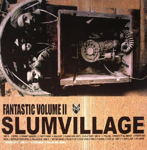 SLUM VILLAGE - FANTASTIC VOLUME 2 2LP