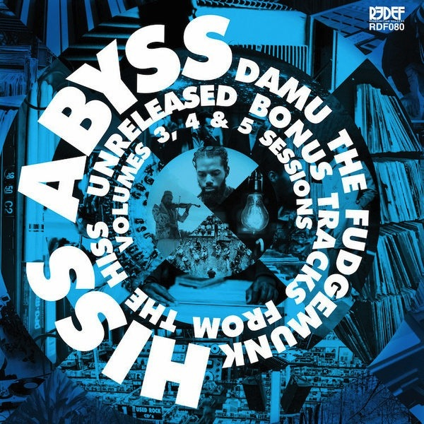 "DAMU THE FUDGEMUNK - HISS ABYSS: HOW IT SHOULD SOUND 3, 4 & 5 10"" LP"