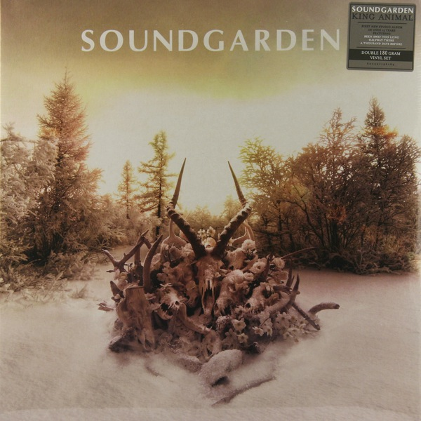SOUNDGARDEN - KING ANIMAL 2LP