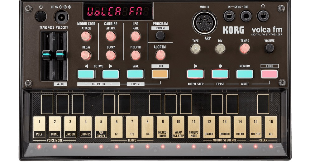 Korg - Volca Sample Digital Sample Sequencer