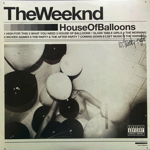 THE WEEKND - HOUSE OF BALLOONS 2LP