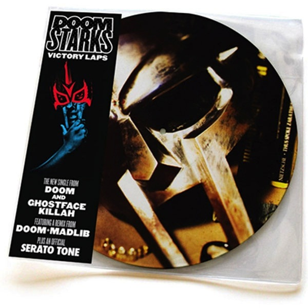 "DOOMSTARKS - VICTORY LAPS 12"" (PICTURE DISC W/ SERATO CONTROL TONE)"