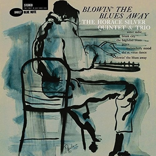 HORACE SILVER - BLOWIN' THE BLUES AWAY LP