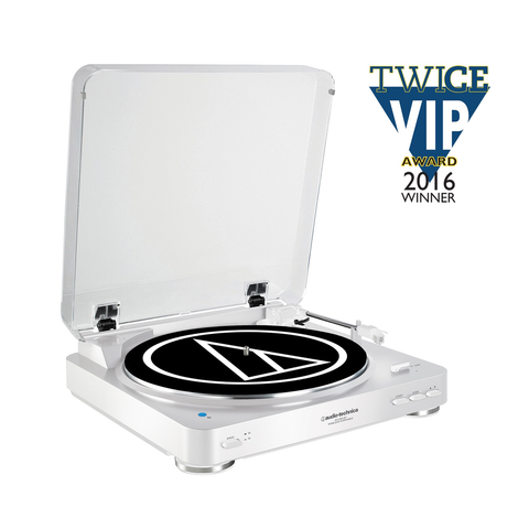 Audio-Technica - Atlp60-Bt-White Fully Automatic Wireless Belt-Drive Stereo Turntable