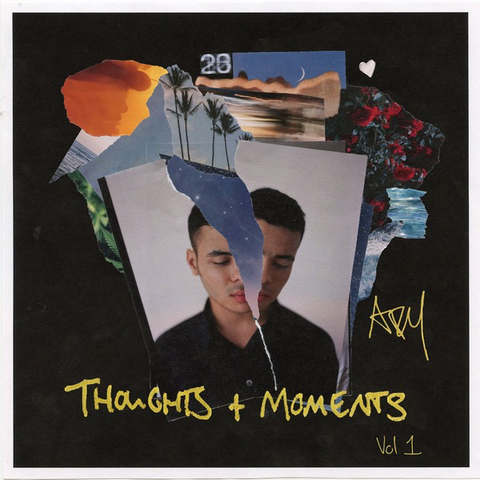 Ady Suleiman ‎– Thoughts + Moments Vol. 1 Mixtape LP
