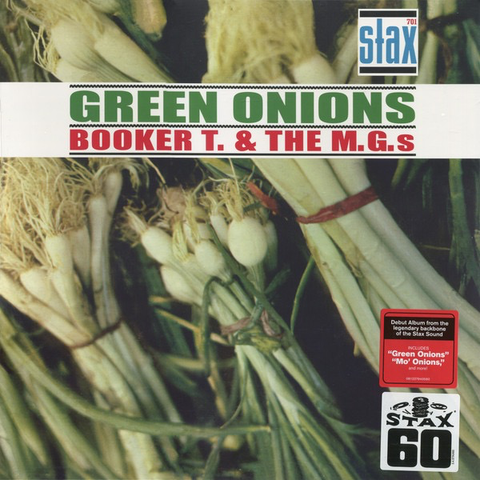 Booker T. & The M.G.'s ‎– Green Onions LP