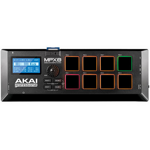 AKAI - MPX8 MOBILE SD SAMPLE PLAYER