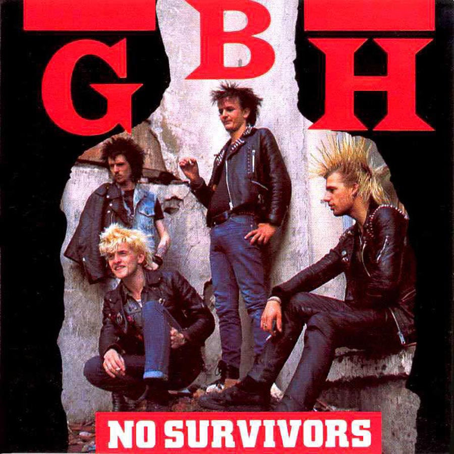 GBH - NO SURVIVORS LP (RED VINYL)