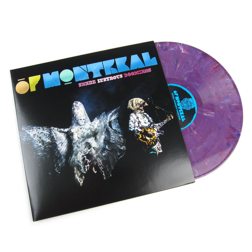 OF MONTREAL - SNARE LUSTROUS DOOMINGS 2LP (PURPLE VINYL)