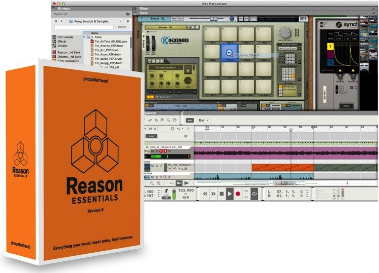 PROPELLERHEAD  - REASON ESSENTIALS