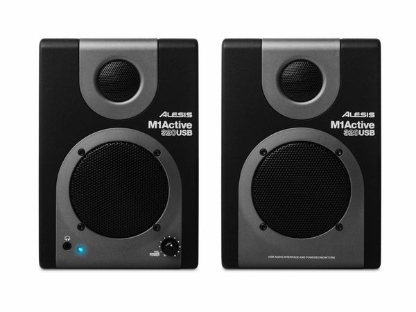 ALESIS - M1 ACTIVE 320 USB PRO AUDIO SPEAKER SYSTEM