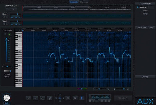 AUDIONAMIX - ADX Trax  Non-Destructive Spectral Separation (Download)