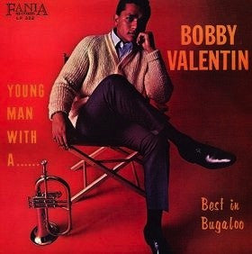 BOBBY VALENTIN - YOUNG MAN WITH A HORN LP