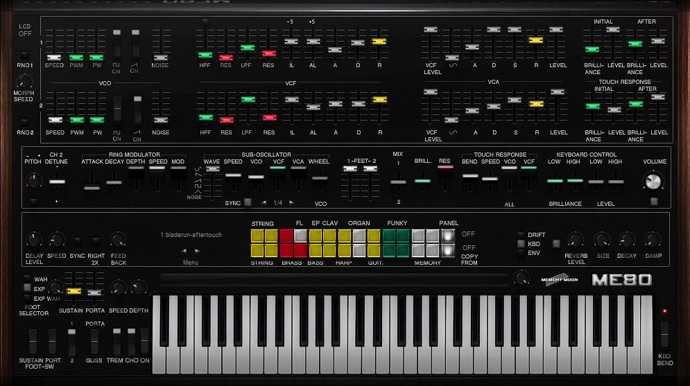 Arturia - CS-80 V Software Synthesizer  (Download)