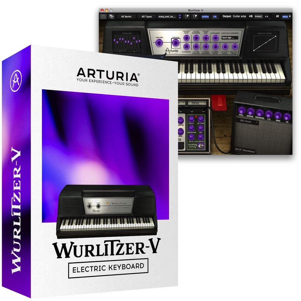 Arturia - Wurlitzer V Electric Piano (Download)